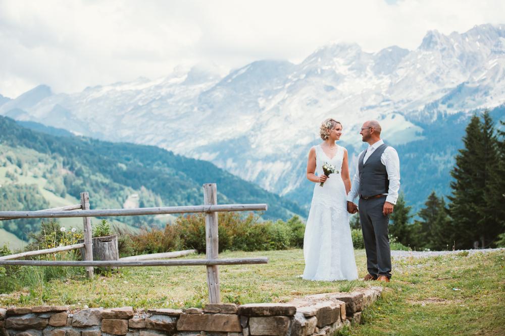 photographe mariage le grand-bornand