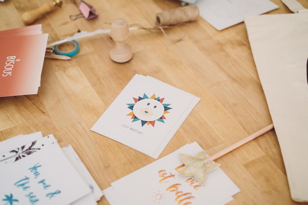 The Paper Smiles, des cartes créatives à personnaliser - Annecy