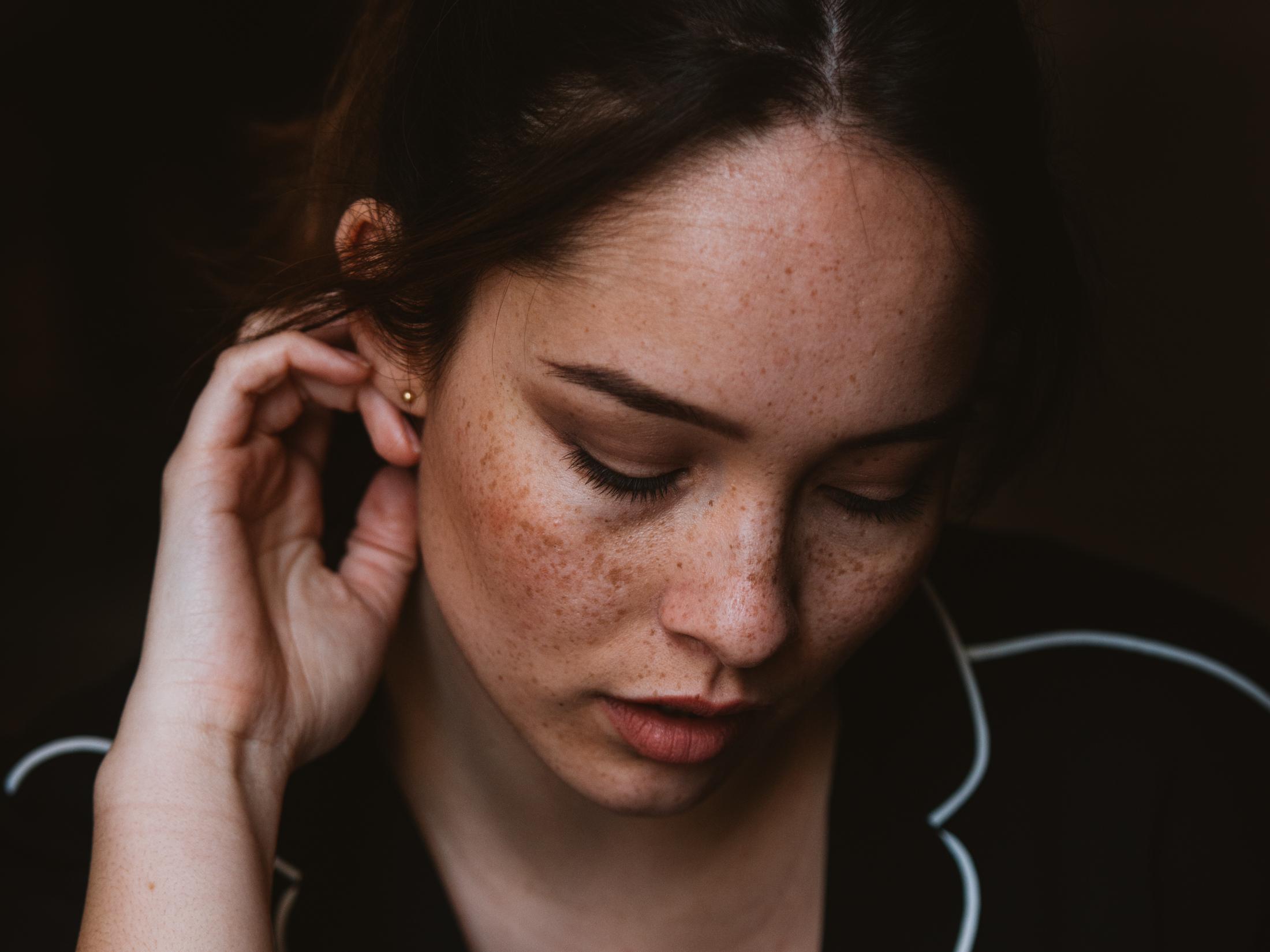 Photographe portrait Annecy visage