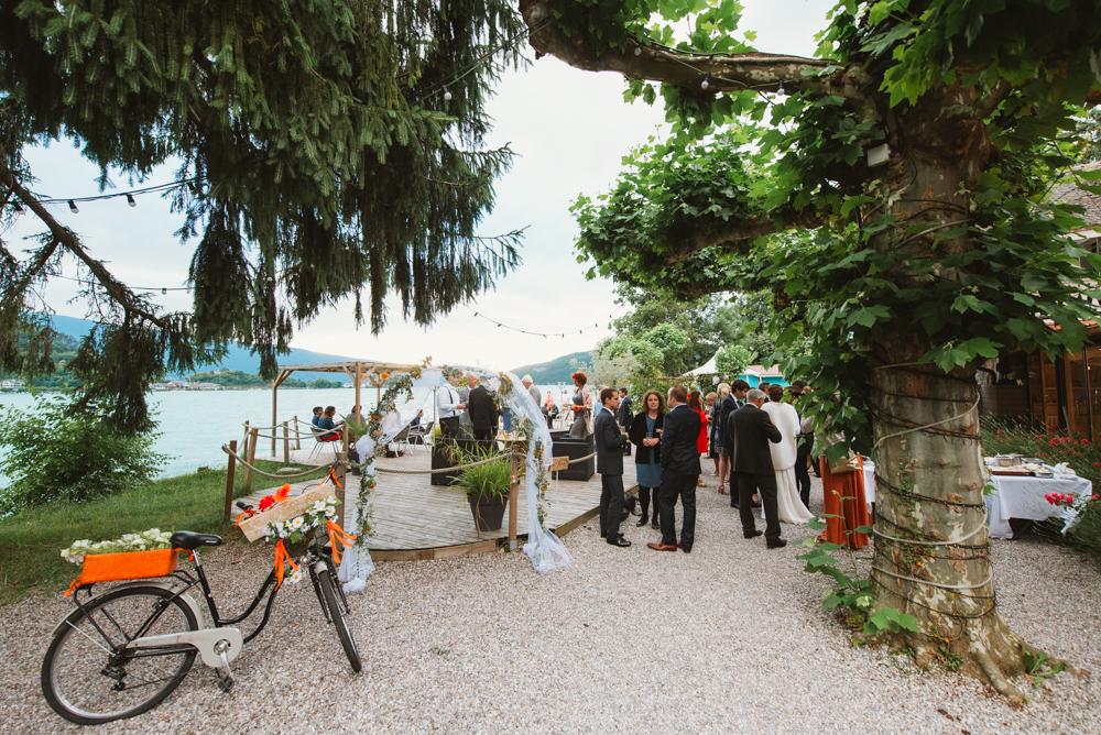 salle lieu réception mariage au bord du lac d'annecy