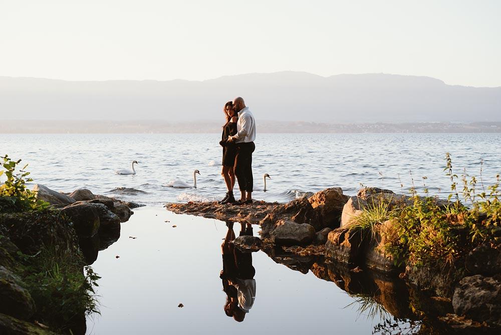 séance engagement lac d'annecy lac léman