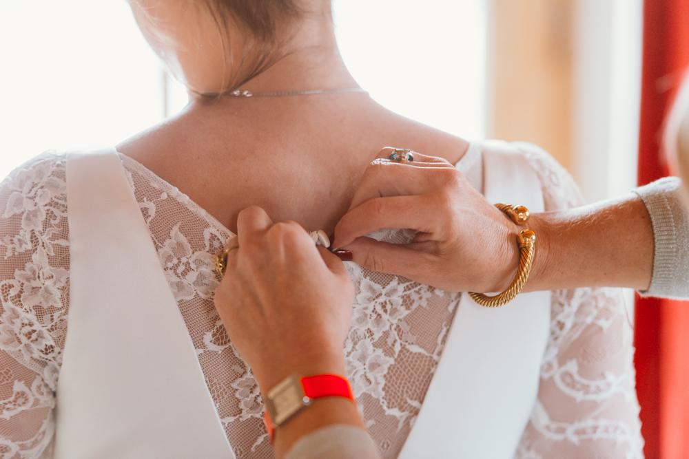 préparatifs robe de mariée annecy