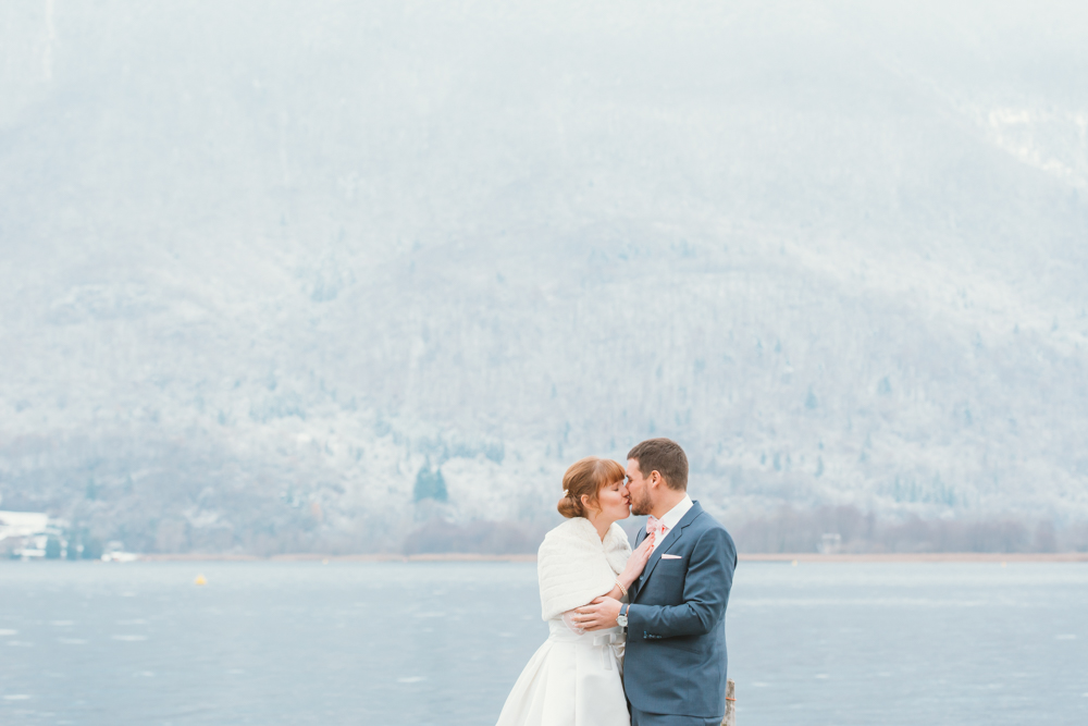 mariage hiver alpes