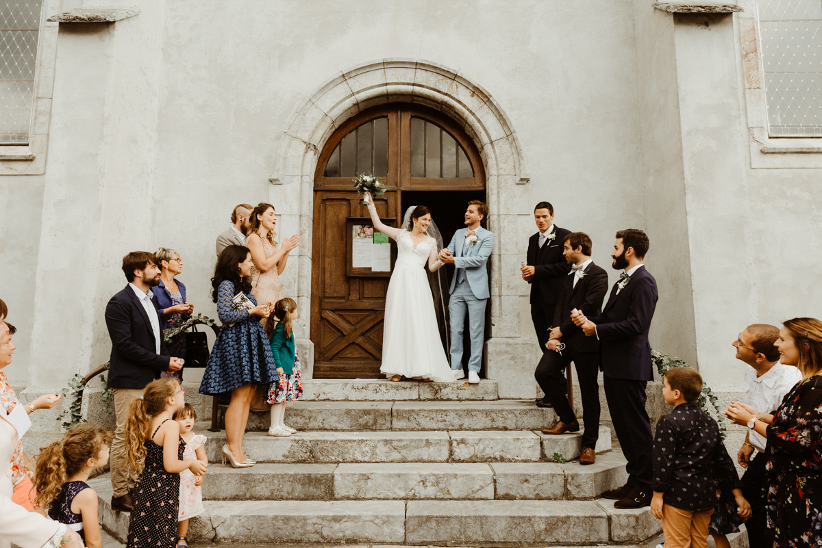 église du pontet mariage