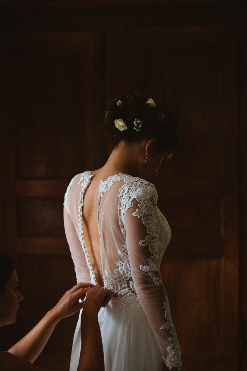 mariage au pontet