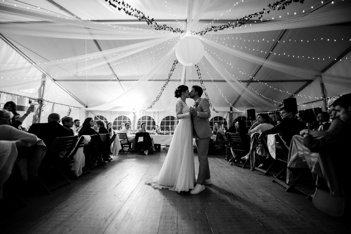 ouverture du ban dansant mariage savoie