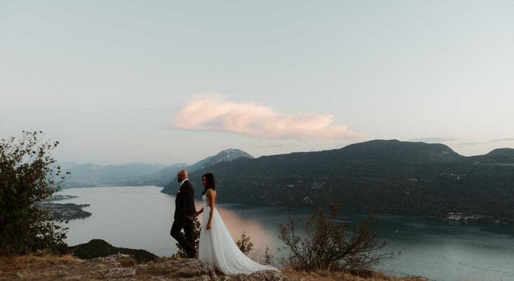 séance afterday mariage engagement col de la chambotte belvédère