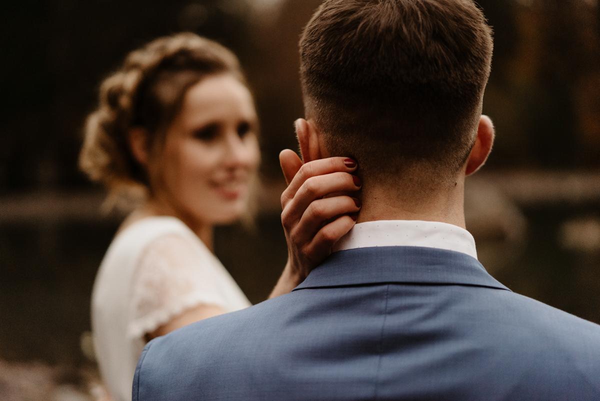 séance d'engagement mariage lac vert passy