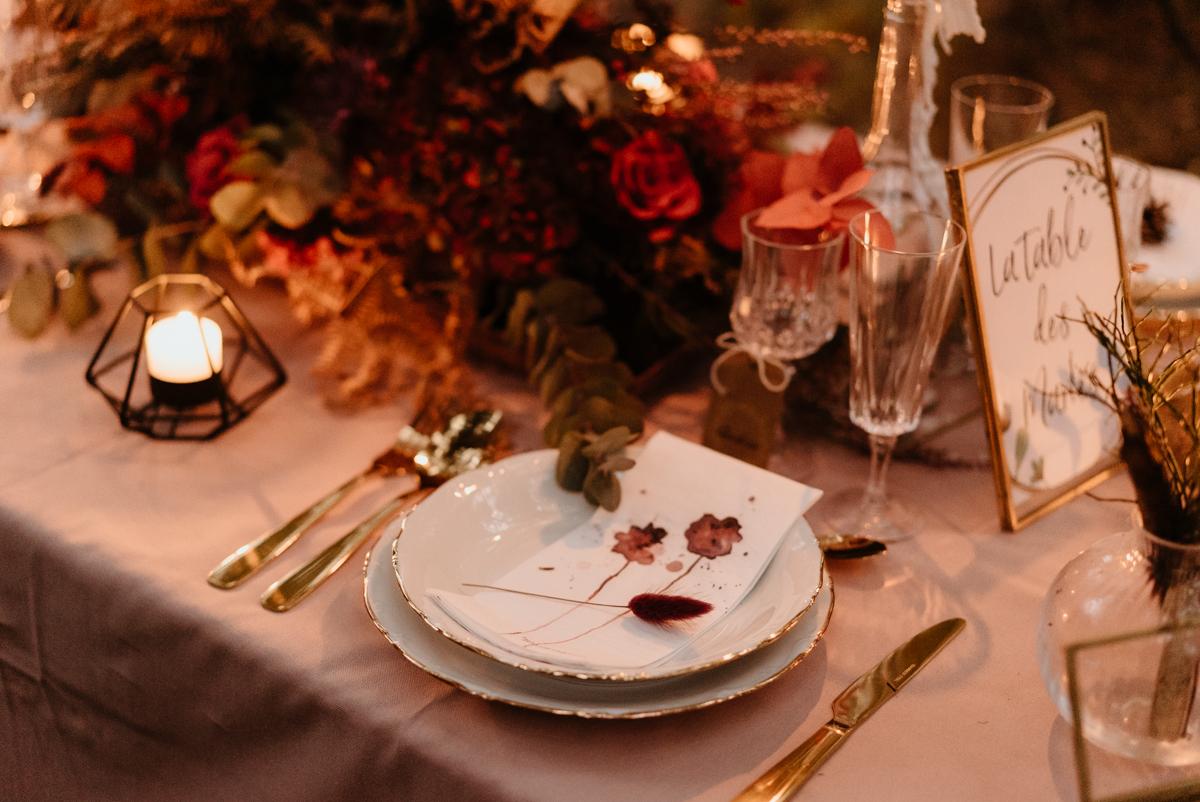 table vaisselle mariage haute savoie
