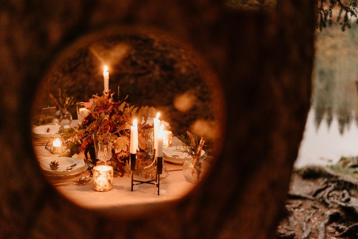 décoration mariage savoie lac vert passy
