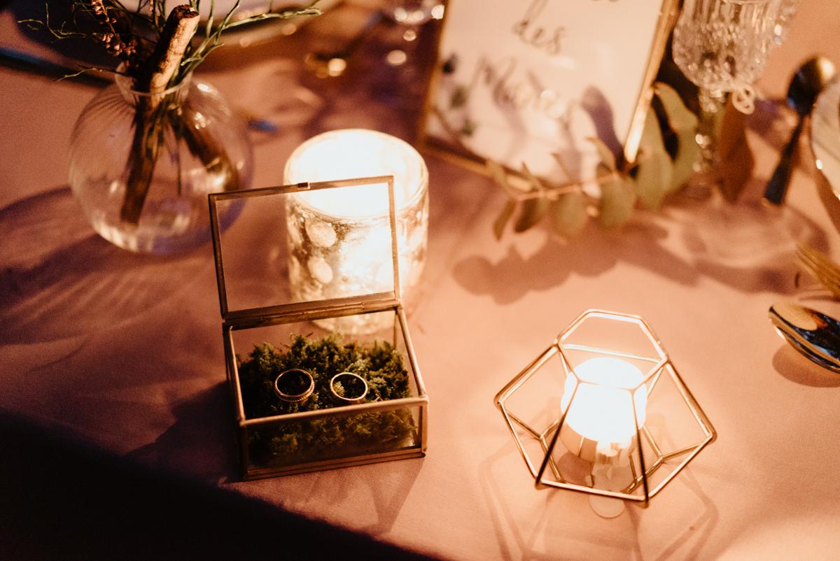 alliances mariage boites champêtre terranium