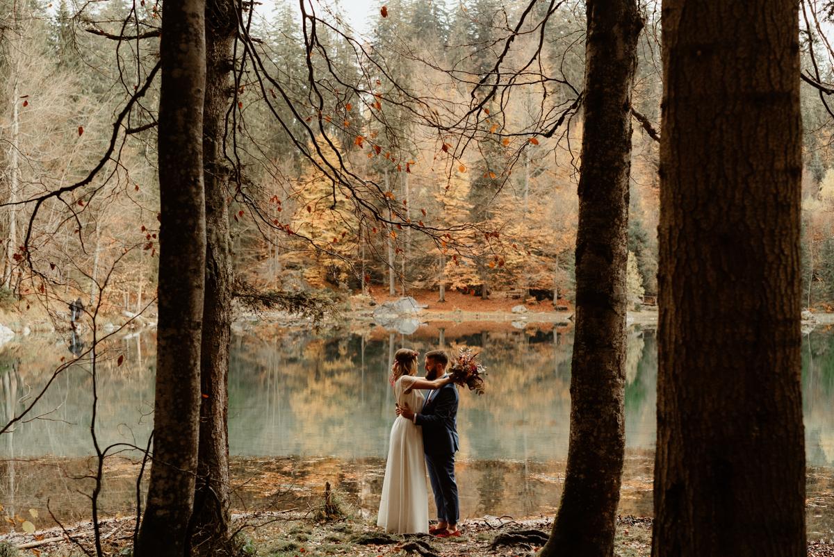 un mariage au lac vert de passy