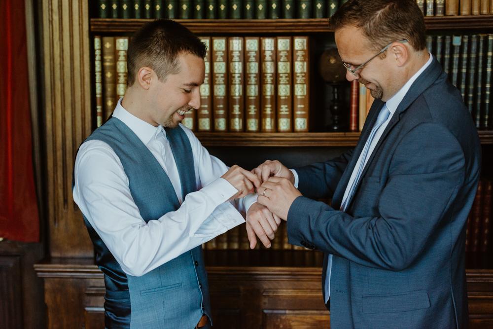 témoin mariage domaine saint pères