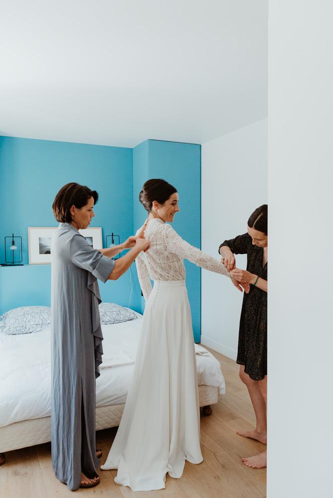 habillage annecy mariage