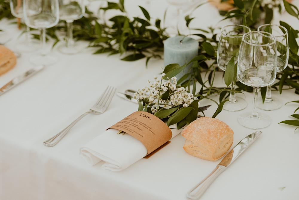 décoration plan de table mariage annecy