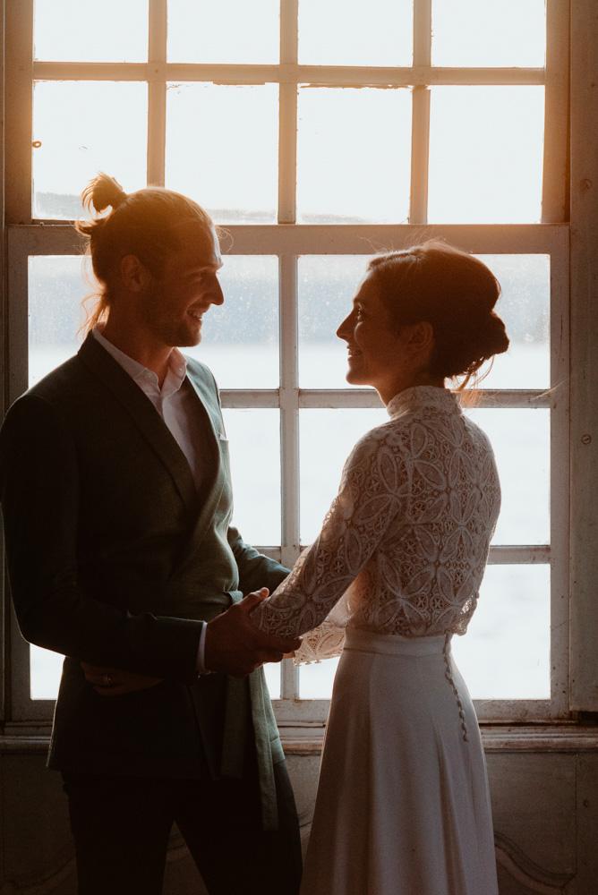 jeunes époux mariage annecy